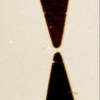 Gold electrodes, EFM mode, 60µm