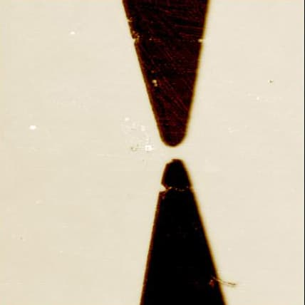 Gold electrodes, EFM mode, 60µm