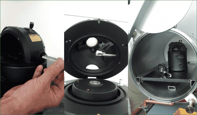 Nano-Observer AFM in Glovebox 2